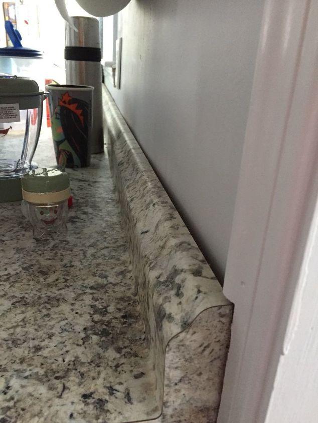 How Do I Put Backsplash On A Wall That Isn T Flat Hometalk