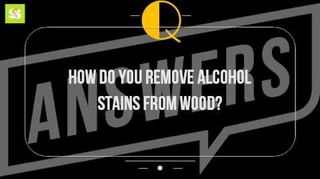 rubbing alcohol stain hometalk