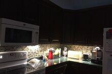 easy under cabinet lighting and hidden cords