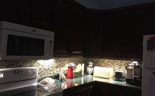 easy under cabinet lighting and hidden cords