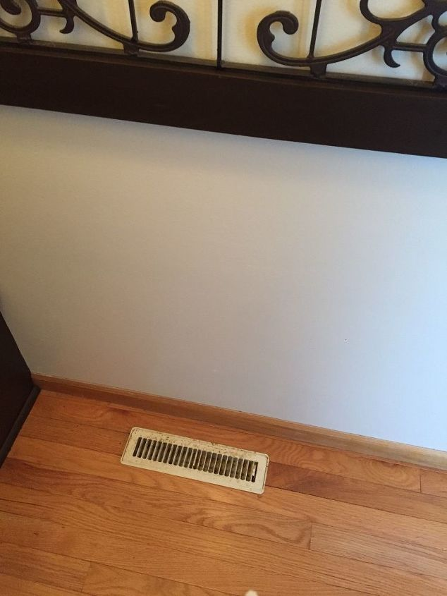 easy cheap fix look for old air duct vent