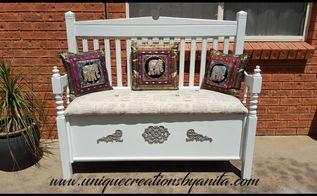 headboard bench, Headboard Bench