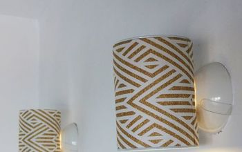turn a tin can into a stylish wall lamp