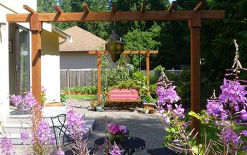 How to Make a Basic DIY Pergola