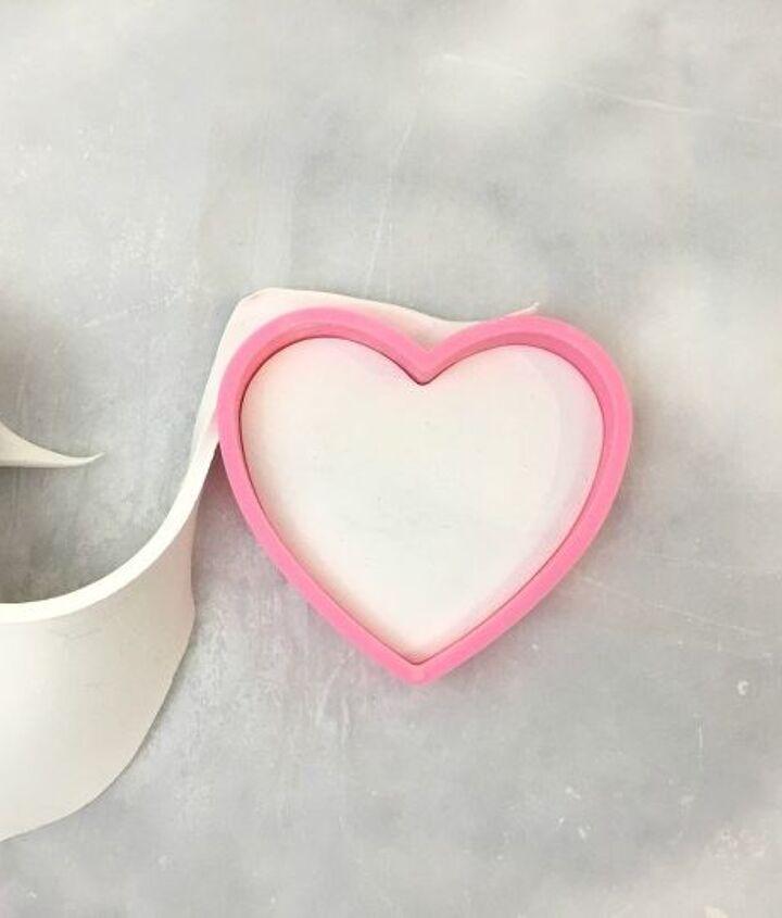 diy clay heart trinket dishes