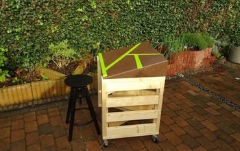 make a simple and adjustable folding workbench meet transform it