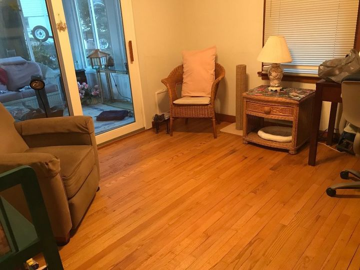 q would a white french door look okay with blond hardwood floors trim