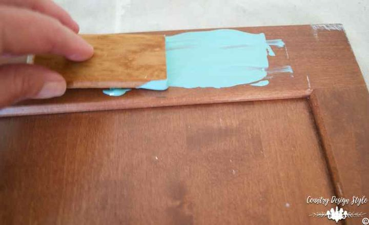 how to get the chippy paint technique in a unique way