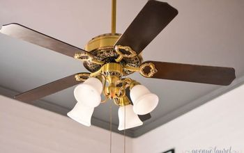 The Easiest Way to Update Your Ceiling Fan