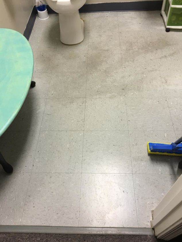 painting on linoleum floors with dixie belle paint