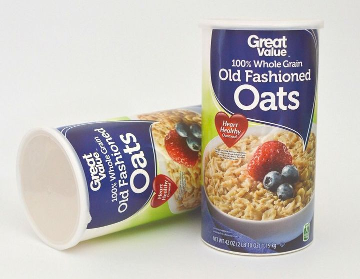 how to repurpose oats container