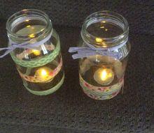 easy washi tape jars