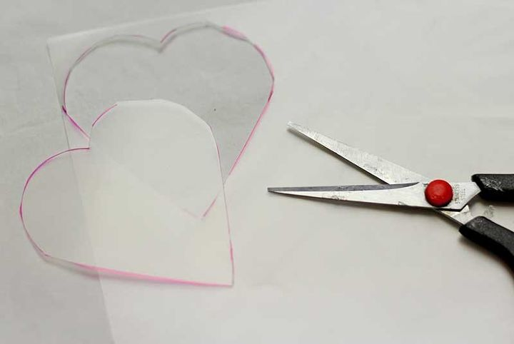 make your own heart shaped fairy lights