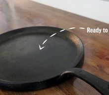 how to rescue and revive a cast iron pan