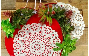Forget the Chocolate! Heart Box Flower Wreath