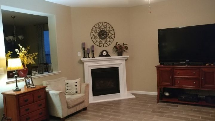 q television mounted over the fireplace yes or no