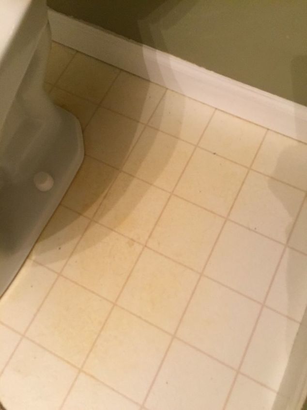 How Do You Remove Yellow Stains From Linoleum Bathroom Floors - Linoleum floor stain removal