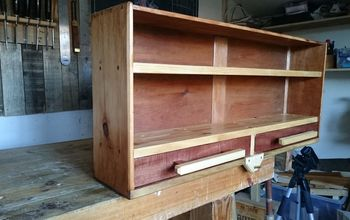 from drawer to shelf unit upcycling project