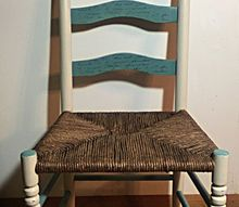 weaving a ladder back chair seat with fiberrush