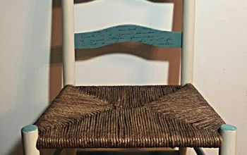 Weaving a Ladder Back Chair Seat With Fiber Rush