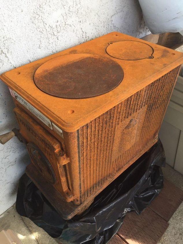 q wood burning stove