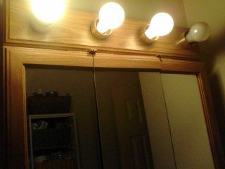 q i have a vanity light bar over my bath sink and i would like to cover