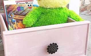 repurposed drawer gets a new shabby chic update and unique use