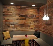 q how can i create a wood panel wall