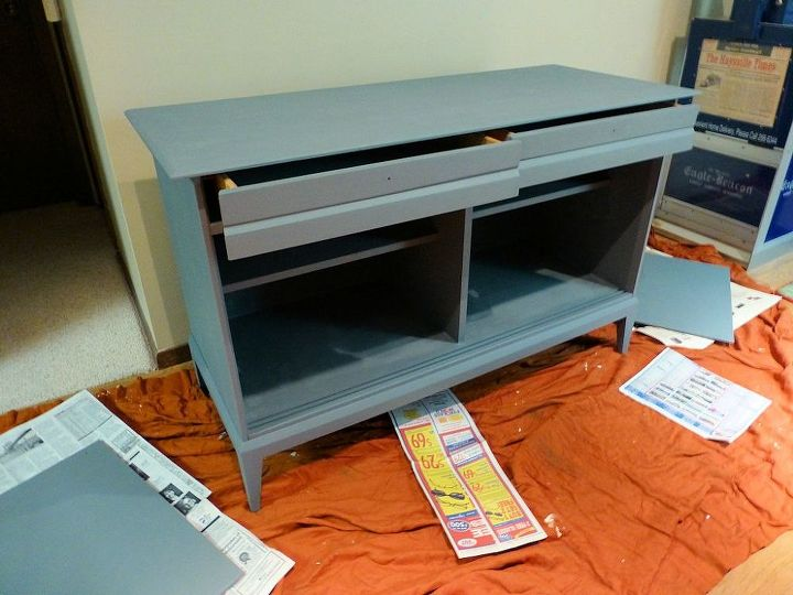 buffet to media cabinet