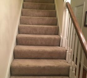 Superior Stairs From Carpet To Wood, Stairs Before