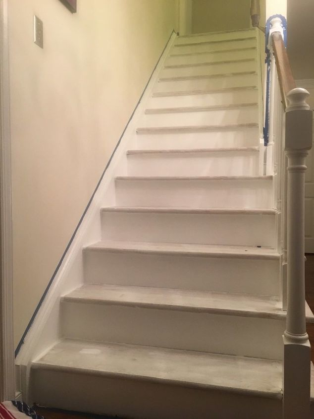 Priming the stairs