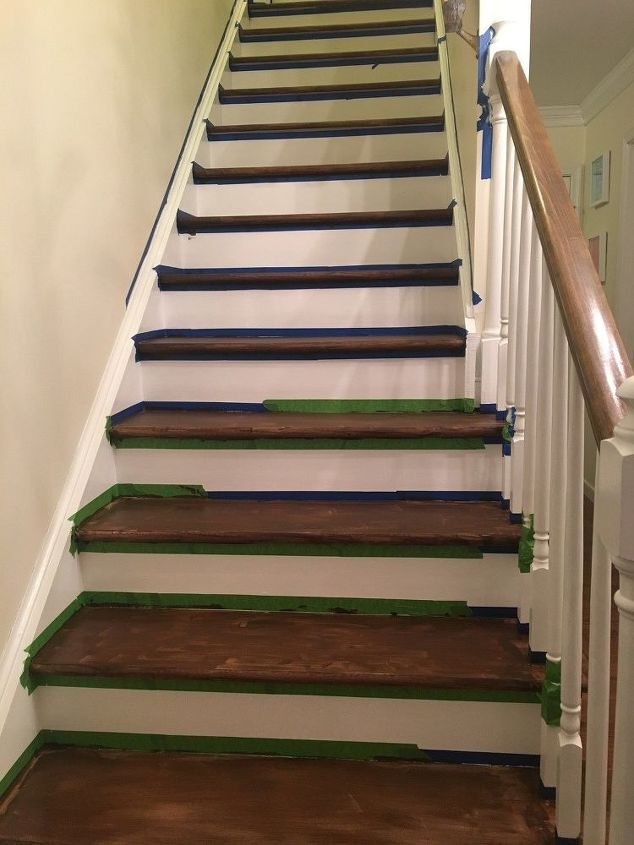 How To Change Stairs From Carpet To Wood Diy Hometalk