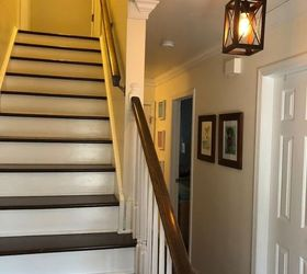 Stairs From Carpet To Wood, Stairs After Carly McPherson