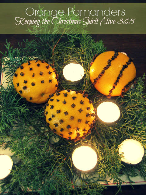s 15 fun ways you can use food to decorate your home, Orange Pomanders