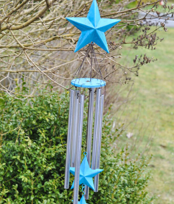s 22 clever wind chimes you can make, Metal Star Wind Chime