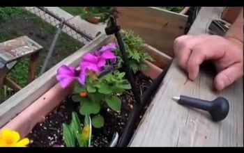 How to Easily Install a Watering System in Your Garden W/ Rain Drip