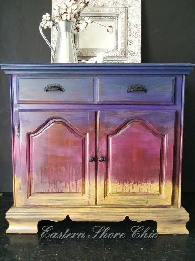 Hand Painted Furniture Inspired By The Sunrise Dixie