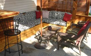 deck patio project
