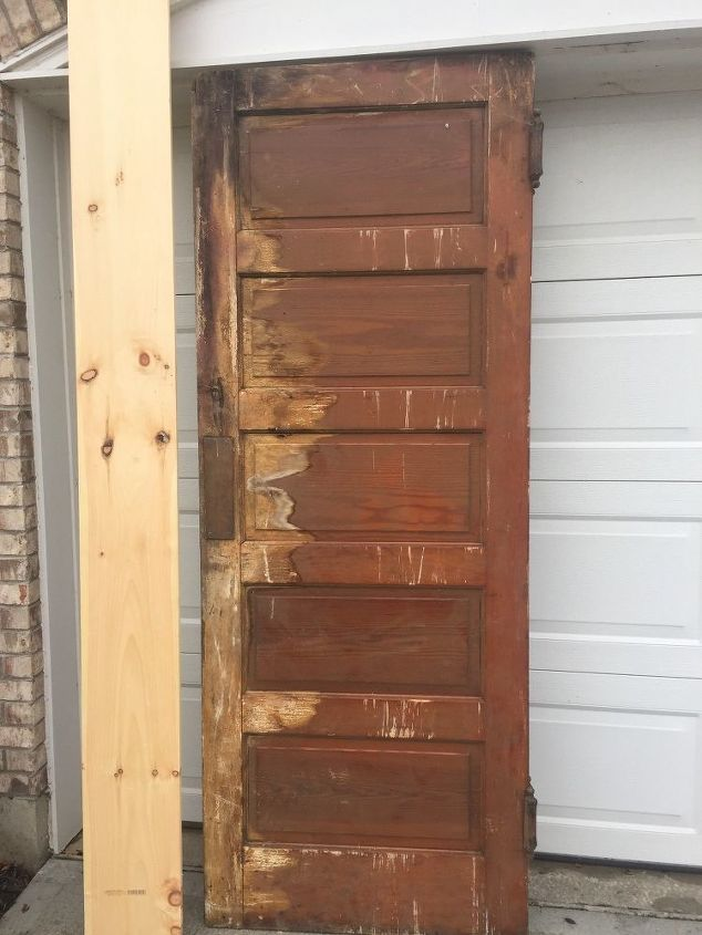 upcycle a vintage door