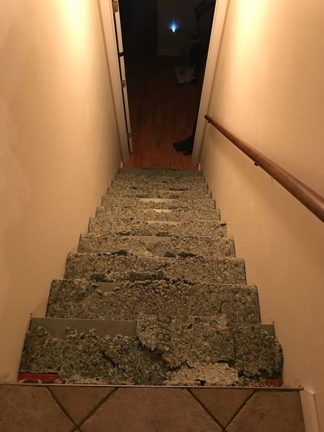q easy inexpensive stair repair