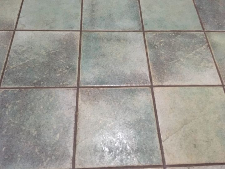 How to paint ceramic floor tiles? | Hometalk