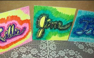 quick wall art sunburst of names