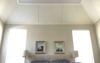 DIY Tray Ceiling Feature