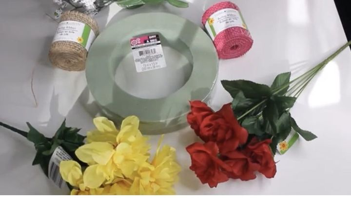 easy 3 diy wreath converts from valentine s day to spring in seconds
