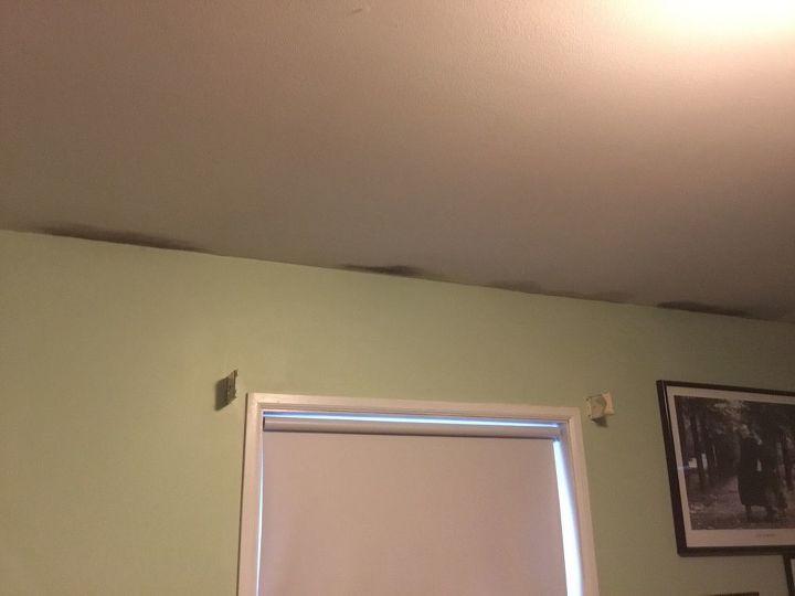 q ceiling moisture marks