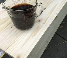how to make an easy reclaimed wood stain finish 3 ingredients