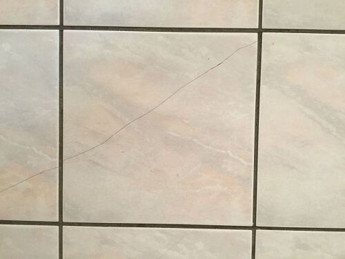 Cracked floor tile repairs hometalk ppazfo