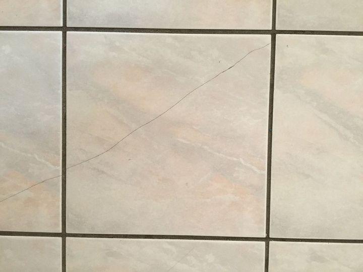 Cracked Floor Tile Repairs Hometalk