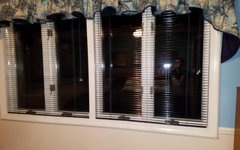 Adding Depth to Casement Window for Mounting Mini Blinds