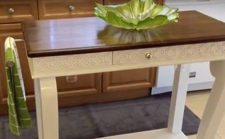 beautiful kitchen island from a console table